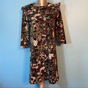 Philosophy women's floral ruffled dress in size xs